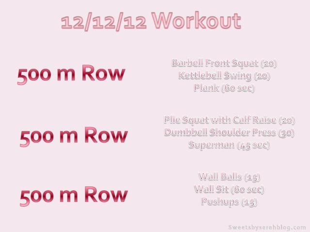 12/12/12 Workout